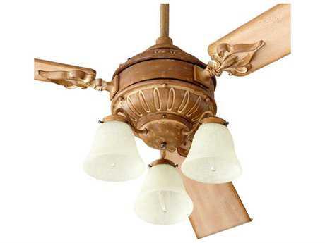 Quorum International Brewster French Umber Fan Light-Kits QM2360094
