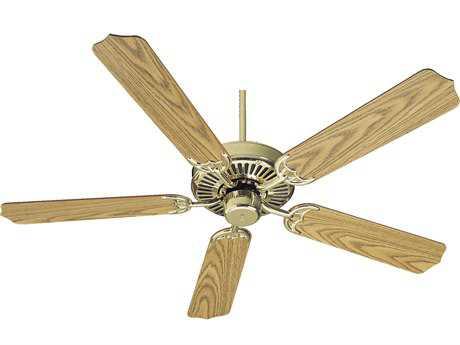 Quorum International Polished Brass 52 Inch Indoor Ceiling Fan QM775252