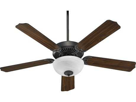 Quorum International Toasted Sienna 52 Inch Indoor Ceiling Fan with Light QM775259244