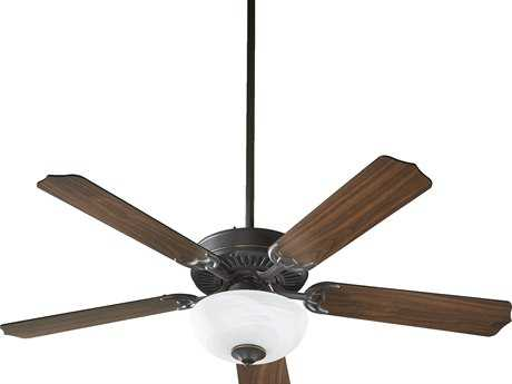 Quorum International Old World 52 Inch Indoor Ceiling Fan with Light QM775259295