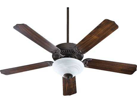 Quorum International Toasted Sienna 52 Inch Indoor Ceiling Fan with Light QM775259544