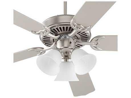 Quorum International Capri VI Satin Nickel Indoor Ceiling Fan QM775251065