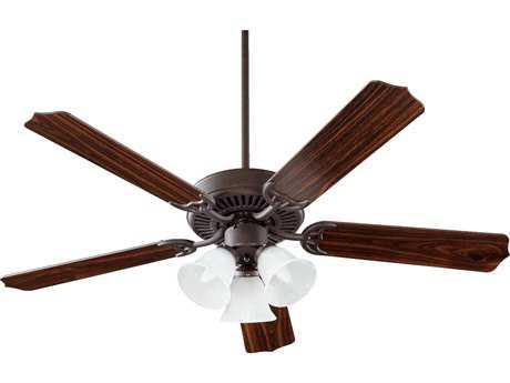 Quorum International Capri VI Toasted Sienna Three-Light 52'' Wide Indoor Ceiling Fan QM775251644