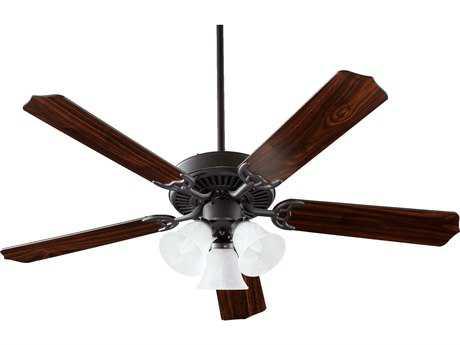Quorum International Capri VI Old World Three-Light 52'' Wide Indoor Ceiling Fan QM775251695