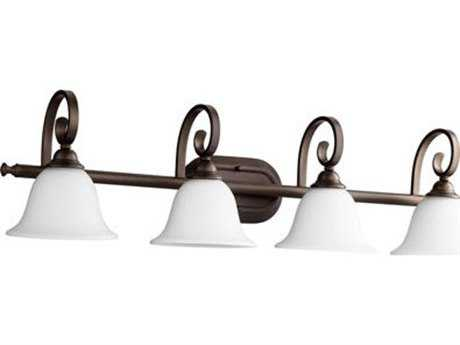 Quorum International Celesta Oiled Bronze Four-Light Vanity Light QM50534186