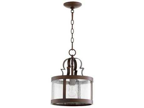 Quorum International Champlain Vintage Copper 11'' Wide Pendant Light QM308139