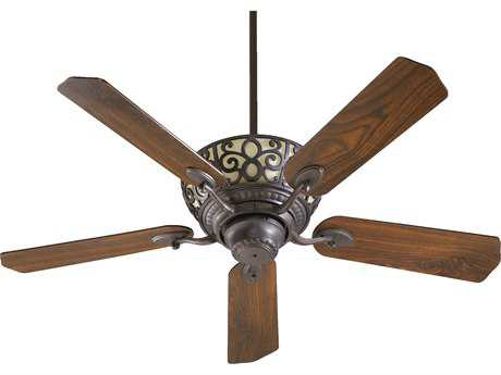 Quorum International Toasted Sienna 52 Inch Indoor Ceiling Fan with Light QM6952544