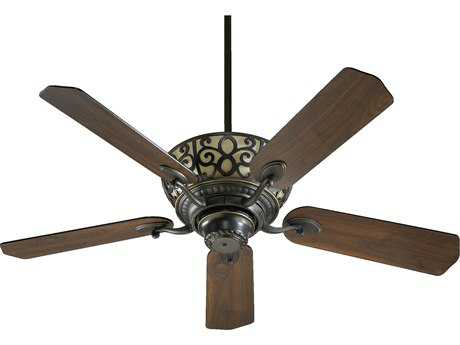 Quorum International Old World 52 Inch Indoor Ceiling Fan with Light QM6952595