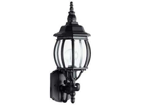 Quorum International Black Outdoor Wall Light QM1157989