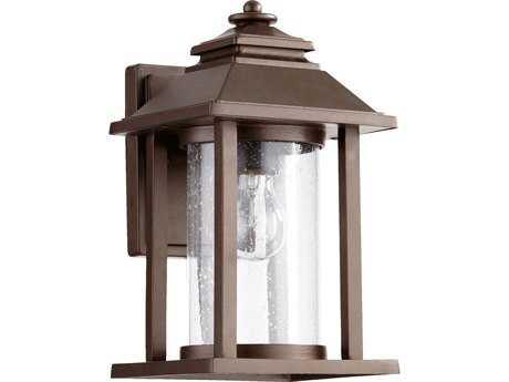 Quorum International Crusoe Oiled Bronze Outdoor Wall Lantern QM727186