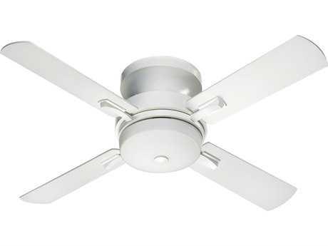Quorum International Studio White 52 Inch Indoor Ceiling Fan with Light QM655248