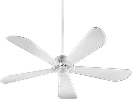 Quorum International Dragonfly Studio White 60 Inch Indoor Ceiling Fan QM596058