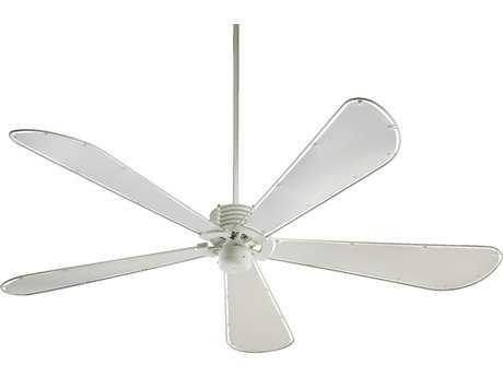 Quorum International Dragonfly Studio White 72 Inch Indoor Ceiling Fan QM597258