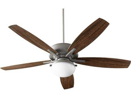 Quorum International Eden Zinc Two-Light 60'' Wide Outdoor Ceiling Fan QM1860517