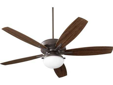 Quorum International Eden Toasted Sienna Two-Light 60'' Wide Outdoor Ceiling Fan QM1860544
