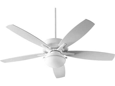 Quorum International Eden White Two-Light 60'' Wide Outdoor Ceiling Fan QM186056