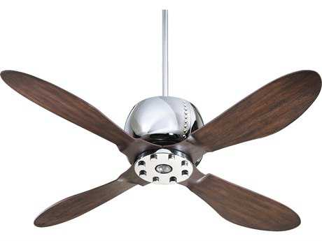 Quorum International Chrome Indoor Ceiling Fan QM3652414