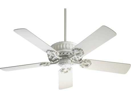 Quorum International Empress Studio White 52 Inch Indoor Ceiling Fan QM355258
