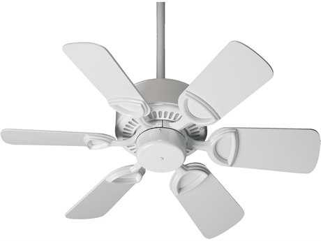 Quorum International Estate White 30 Inch Indoor Ceiling Fan QM433066