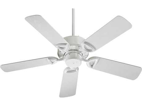 Quorum International Estate Patio White 42 Inch Outdoor Ceiling Fan QM1434256