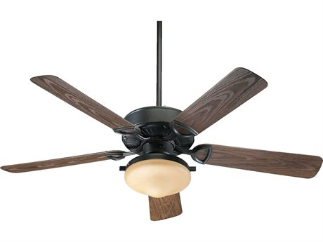 Quorum International Estate Patio Old World Two-Light 52'' Wide Outdoor Ceiling Fan QM1435259395