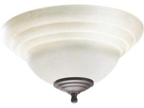 Quorum International Toasted Sienna / Old World Two-Lights Fan Light Kit