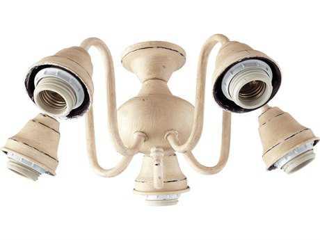 Quorum International Persian White Five-Lights Fan Light Kit QM25308070