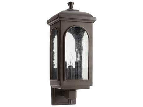 Quorum International Fuller Oiled Bronze Three-Light Outdoor Wall Light