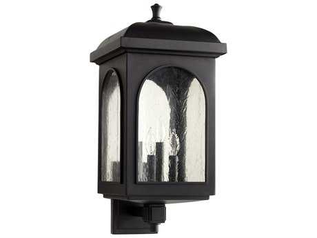 Quorum International Fuller Noir Four-Light Outdoor Wall Light