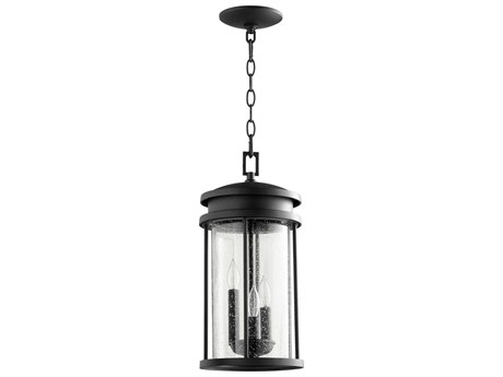 Quorum International Hadley Noir Three-Light 8'' Wide Hanging Light QM7111369