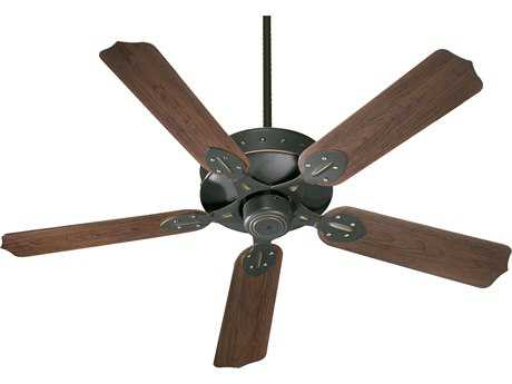 Quorum International Hudson Patio Old World 52'' Outdoor Ceiling Fan