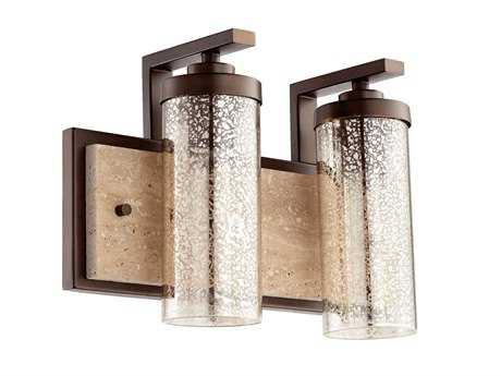 Quorum International Julian Oiled Bronze Two-Light Vanity Light QM503286
