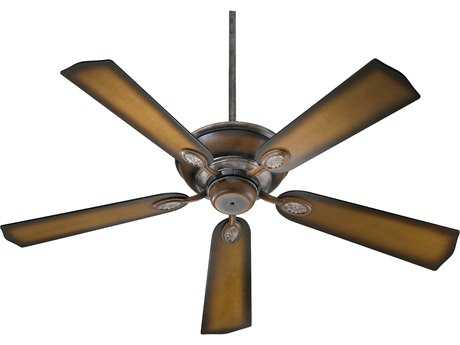Quorum International Kingsley Mystic Silver 52 Inch Indoor Ceiling Fan QM3852558
