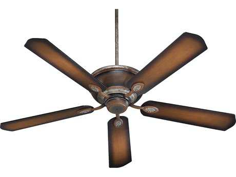 Quorum International Kingsley Mystic Silver 60 Inch Indoor Ceiling Fan QM3860558