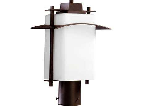 Quorum International Kirkland Oiled Bronze Outdoor Post Light QM7202986
