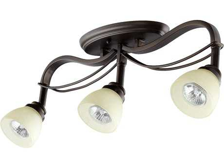 Quorum International Lariat Oiled Bronze Three-Lights Rail Light QM3831386
