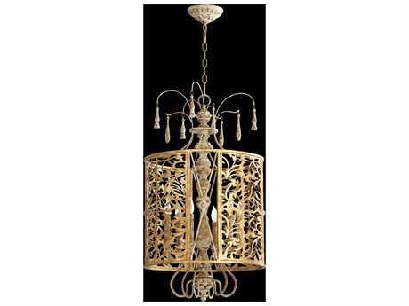Quorum International Leduc Florentine Gold Six-Light Pendant Light QM8357661