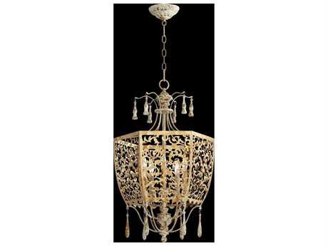Quorum International Leduc Florentine Gold Five-Light Pendant Light QM8358561