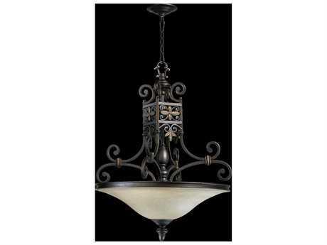 Quorum International Marcela Oiled Bronze Four-Light Pendant Light QM8031486