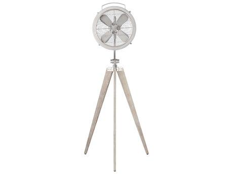 Quorum International Mariana Satin Nickel 18'' Wide Floor Fan QM3515465