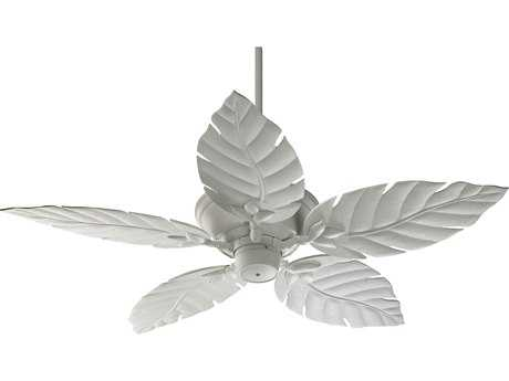 Quorum International Monaco Studio White 52 Inch Outdoor Ceiling Fan