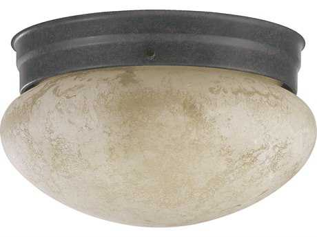 Quorum International Toasted Sienna Ceiling Fixture