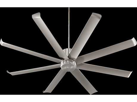 Quorum International Proxima Patio Satin Nickel 72'' Outdoor Ceiling Fan QM19672865