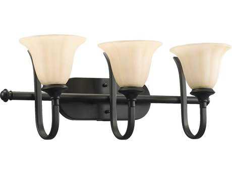 Quorum International Randolph Oiled Bronze Three-Lights Vanity Light QM5194386