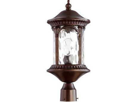 Quorum International Riviera Oiled Bronze Outdoor Post Light QM7903186