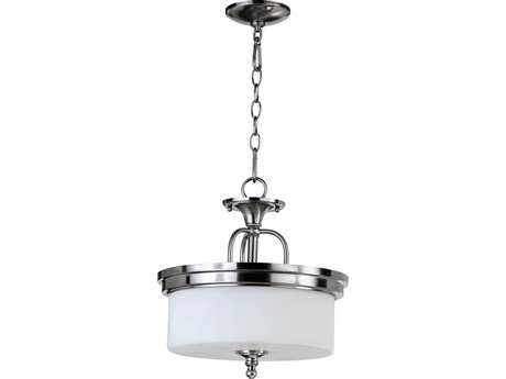 Quorum International Rockwood Satin Nickel Three-Lights Pendant Light QM28901465