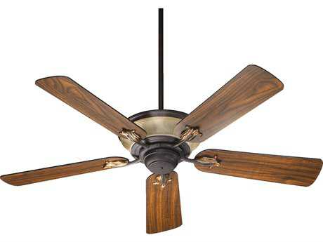 Quorum International Roderick Toasted Sienna with Golden Fawn 52 Inch Indoor Ceiling Fan