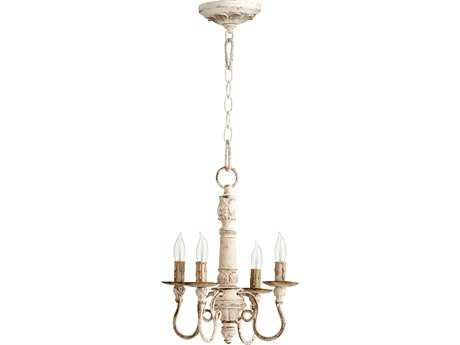 Quorum International Salento Persian White Four-Light 12'' Wide s Mini Chandelier QM6006470