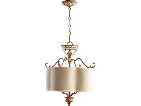 Quorum International Salento French Umber Four-Lights Pendant Light QM27061894
