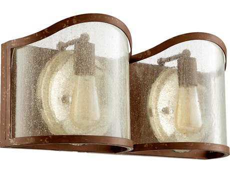 Quorum International Salento French Umber Two-Light Vanity Light QM5106294